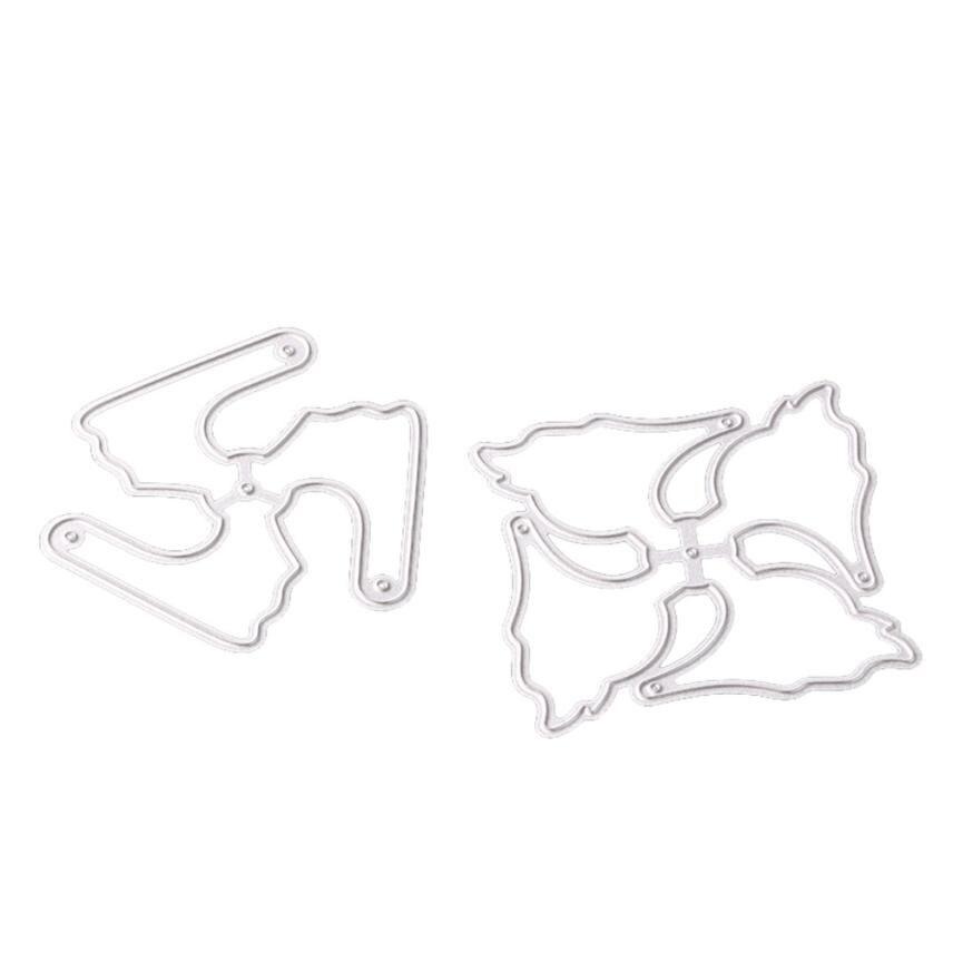 House LC New Metal Die Cutting Dies Stencil For DIY Scrapbooking Album Paper Card Decor Craft 18Feb27 Drop Ship