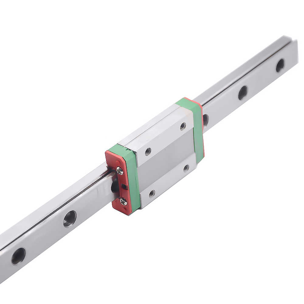 Peças do cnc MGN7 MGN12 MGN15 MGN9 300 350 400 450 500 600 800 milímetros em miniatura trilho deslizante linear transporte guia linear + 1pcMGN9H 1pcMGN9