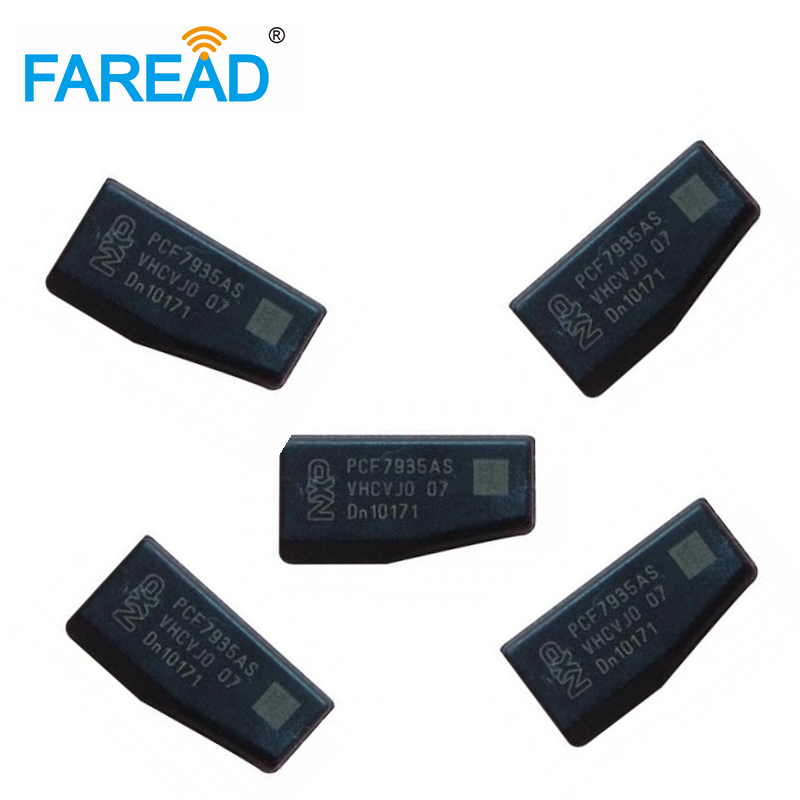 Free Shipping  X5pcs Car Key Chips PCF 7935AS/AA ID44 Ceramic Transponder Chip