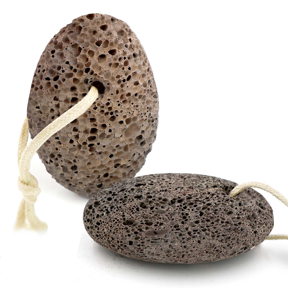 Dighealth 1pcs Dead Skin Remover Pumice Stone Feet Care Natural Volcano Foot Massager Stone Pedicure Tools Foot SPA