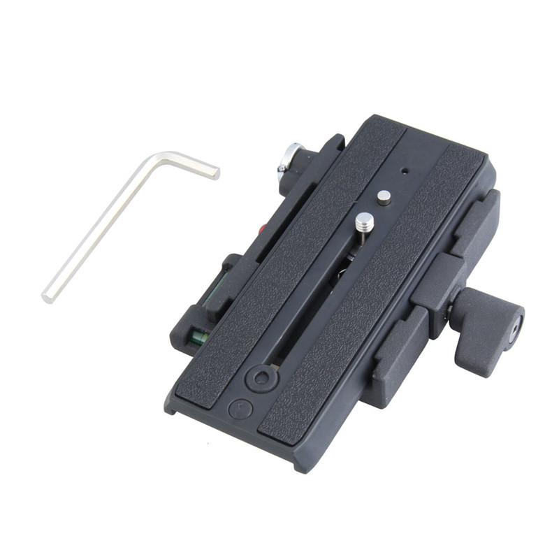 Professional Aluminium Alloy Camera Quick Plate For MH611 long Quick Release Plate for Giottos High Quality
