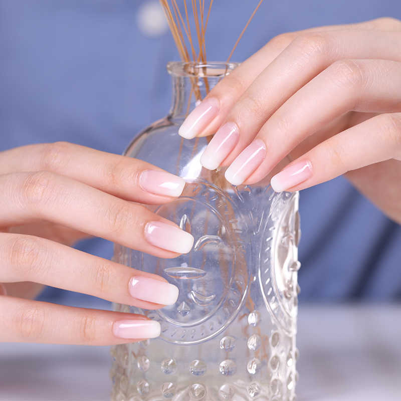 ... BORN PRETTY Opal Jelly Nail Gel Polish 6ml Semi-transparent White Pink Varnish Soak Off ...