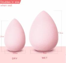 BeautyPaPa Rosa di Bellezza di Trucco Spugna Soffio Morbida Per La Polvere Liscia Prodotti di base Correttore Applicatore
