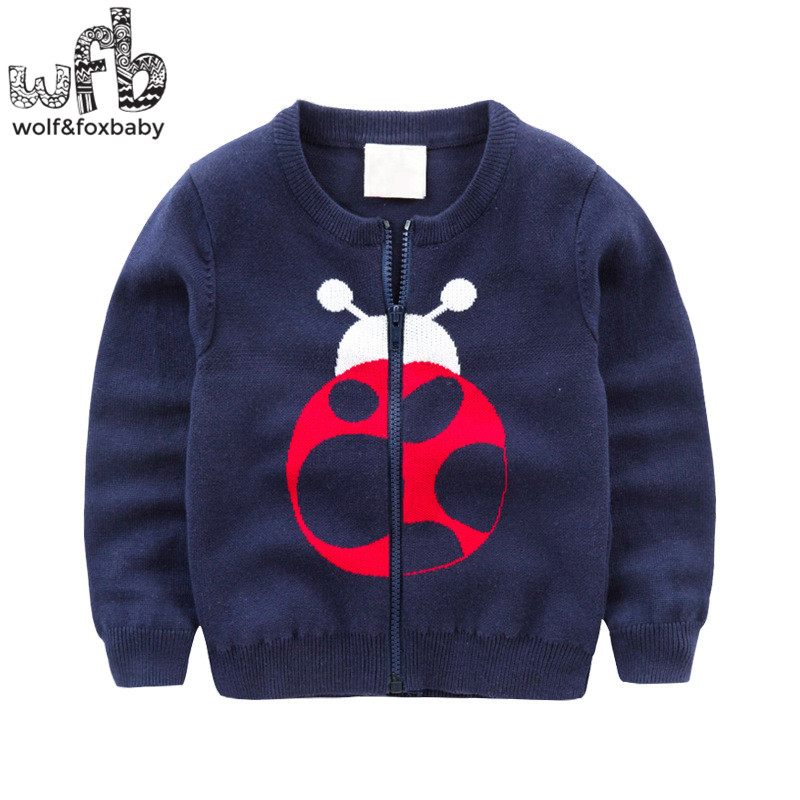 Retail-2-8years-knitted-sweaters-Cardigan-Beetle-Elephant-solid-color-baby-kids-children-Clothes-spring-autumn-fall-2