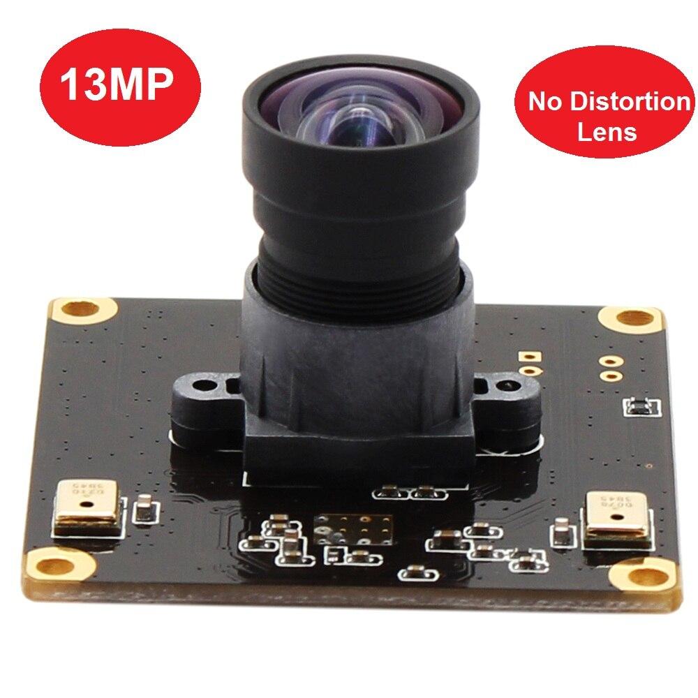 Module de caméra USB de carte de vidéosurveillance UVC à mise au point fixe 13MP 3840 (H) * 2880 (V) SONY IMX214 couleur CMOS MJPEG YUYV pour la capture de documents