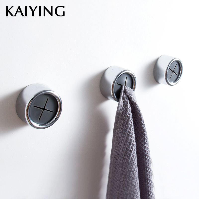 Tea, Adhesive, Round, Wall, Grabber, Cloth
