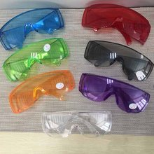 цены Protective Safety Goggles Glasses Work Dental Eye Protection Spectacles Eyewear Anti-shock Goggles Color Goggles