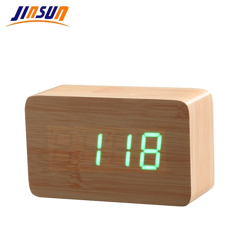 JINSUN Сучасний лісовий годинник під - Домашній декор