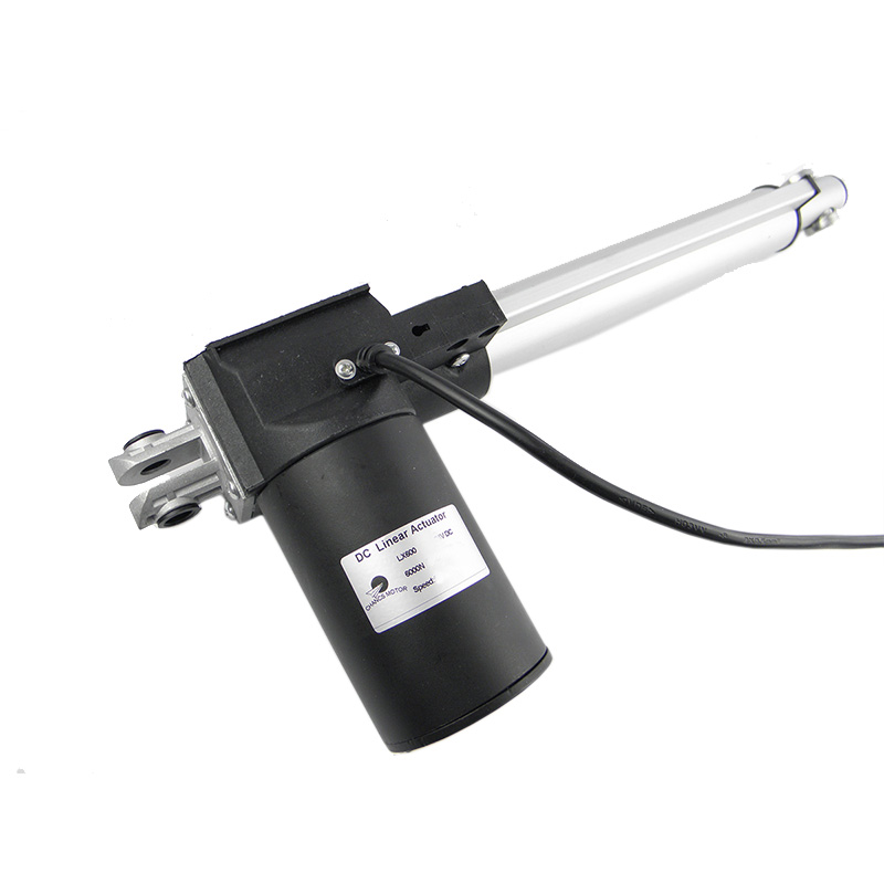 Lx600 6000n/300n Linear Actuator 12v/24v Storke 250mm For Auto Bed Chair Lifting Linear Drive Motor Home Improvement Dc Motor
