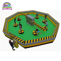 8 Players inflatable meltdown game/ inflatable wipeout for sale /inflatable wipeout course