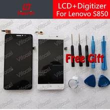 Hacrin Lenovo S850 ЖК-дисплей Дисплей + Сенсорный экран 100% новый Стекло Панель дигитайзер Ассамблеи Замена Ремонт Бесплатная доставка