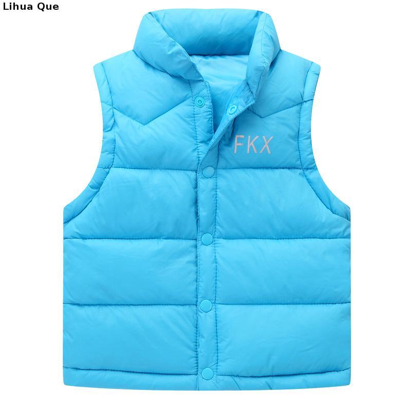 Autumn-Winter-2017-Boys-Girls-Vest-Jacket-light-white-duck-down-vest-Kid-Cotton-Waistcoat-baby-Vest-Solid-Single-Breasted-Liner-4