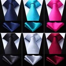 Галстук мужской подарки для мужчин галстук носовые платки комплект галстуки мужские аксессуары галстуки мужские 8.5 см галстуки для мужчин галстук набор черный серый белый синий красный галстук мужские галстуки
