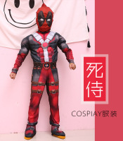Christmas Boys Muscle Super Hero Flash Costume Deadpool Hulk Avengers Costumes Cosplay For Kids Children Boy