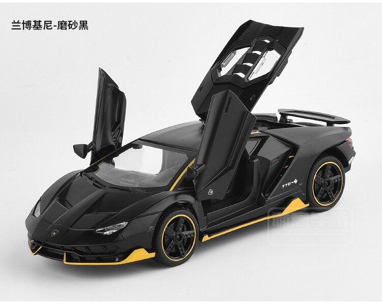 1/32 Diecasts & Toy Vehicles Car Aventador LP770 Hot Style Rambo Centenario Sound Light Toys