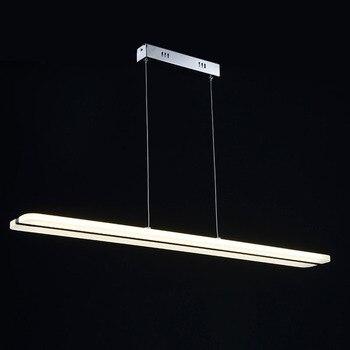 Lámpara colgante acrílico para oficina/hogar iluminación colgante ...