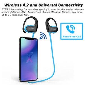 Image 3 - RALYIN M2 Bluetooth ספורט אוזניות MP3 נגן Lossless אוזניות מובנה 8GB זיכרון עם אוזן וו מיקרופון IPX6 עמיד למים אוזניות