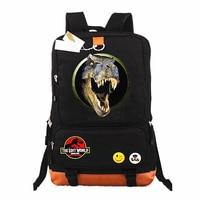 Jurassic Park Laptop Bags Casual Backpack teenagers Men women's Kids Student School Bags bookbag travel Shoulder Bag Mochilas