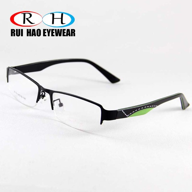 Eyeglasses Frame Men Stainless steel Eyewear Frames Fashion ...