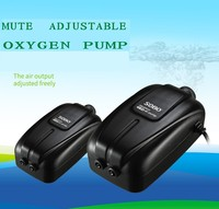 SOBO SB 8802/8804/8806/8808 fish tank mute oxygen increasing pump Aquarium small air pump Air output adjustable ABS shell