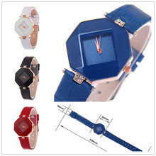 Nueva Llegada KEZZI Cuarzo Impermeable de Los Relojes de Lujo de Las Mujeres Mini Señoras de Cuero Cuadrada Niñas relojes de Pulsera relogio feminino