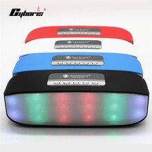 Cyboris Портативный яркая Bluetooth Динамик Беспроводной стерео звук Динамик S Super Bass с TF USB FM для мобильного телефона mp3