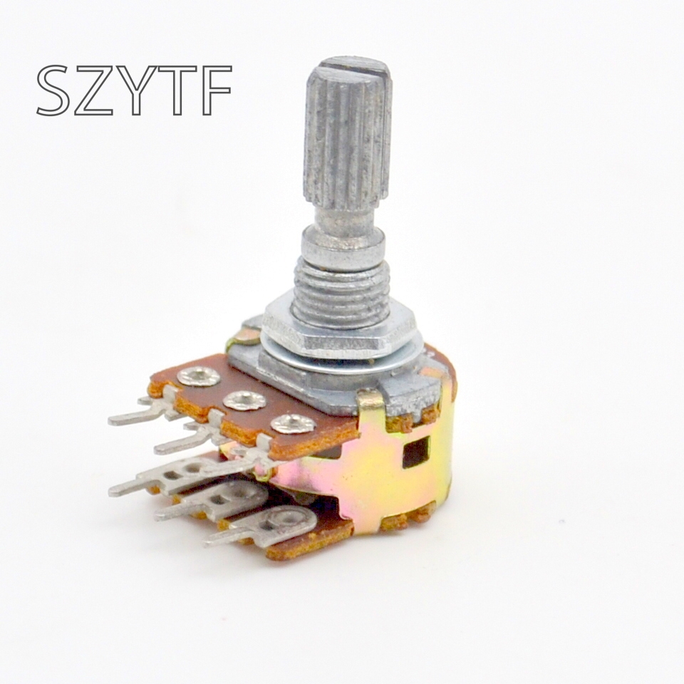 Commonly-used Simplex And Duplex  18 Kind * 1pcs = 18 Pcs  WH148 Potentiometer 16 Type Adjustable Resistance  Assorted Kit