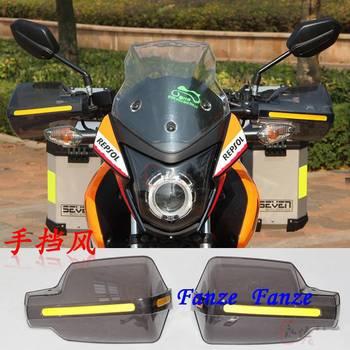 7/8 22mm Handlebar Motorcycle Bike Brush Hand Guards Handguard Protector