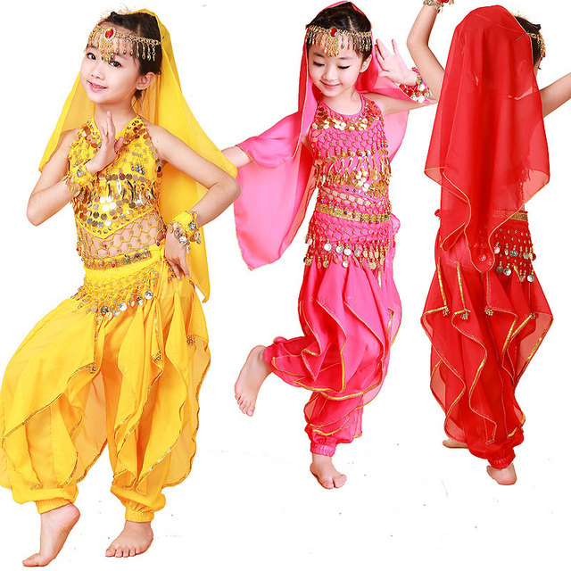 Aliexpress.com : Buy Children Dancewear Kids Professional Belly ...