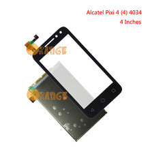 Für Alcatel One Touch Pixi 4 4034 OT4034 4034D 4034X 4034A 4034E OT-4034 4,0 ''Touch Screen + LCD Display touch Panel Digiziter(China)
