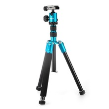 Selens T170 62in Professional Foldable SLR Camera Aluminum Tripod / Monopod for Canon, Nikon, Sony Cameras and Camcorders (Blue)