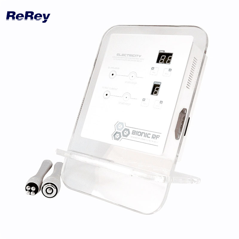 Portable RF Radio Frequency Face Device Facial Skin Rejuvenation Multipolar RF Lifting Face Massager Skin Tightening Machine mini portable usb rechargeable ems rf radio frequency skin stimulation lifting tightening led photon rejuvenation beauty device