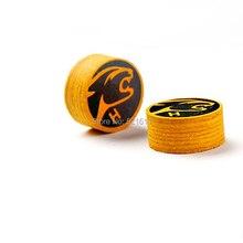 Xmlivet 2 шт./лот 14 мм наконечники для бильярдного кия коричневый твердость в S/M/H кия палки аксессуары Китай