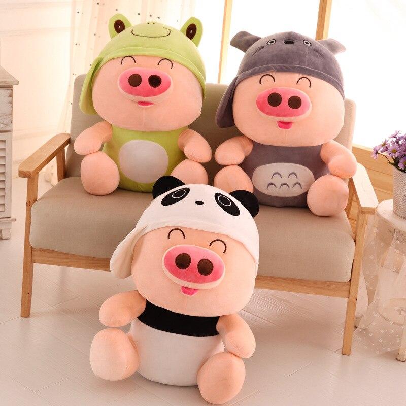 Offre spéciale créative belle peluche cochon mcterne 5 Style Animal en peluche pour bébé enfants cadeau d'anniversaire