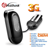 3G Vision Personal GPS Tracker SOS Alarm Geo Fence ACC Detect Real Time GPS Tracking Device