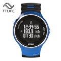 TTLIFE Bluetooth GPS Работает Смарт Часы Серебристых Умный Напоминание Smart Watch Наручные Часы для Android IOS Телефон