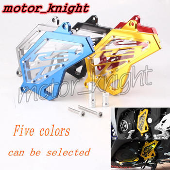 Front CNC Sprocket Cover Chain Guard Protector For 2014 2015 2016 YAMAHA YZF R25 R3