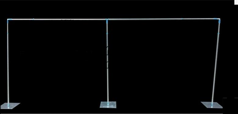 Заводская цена свадебный фон трубы стенд \ стент для банкета события украшения из нержавеющей стали полюс 3 м * м 6