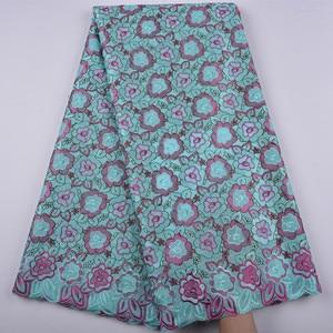 Image 5 - la suisse afrique tissu coton tissus de dentelle haute qualité voile lacets dentelle française tissu tissu chaque robe a1344 hommes femmes