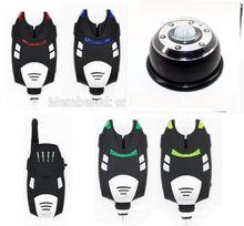 1+4 беспроводной ходовые светодиодные укус сигнализация с получателя в случае, + комплект палатки света