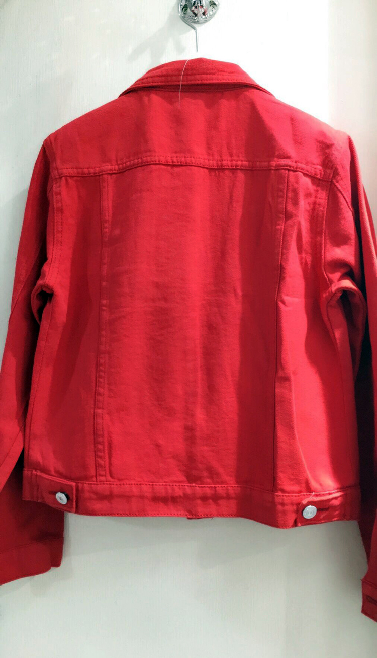 HTB1D.5NnStYBeNjSspkq6zU8VXab Spring Autumn Women Clothing Cowboy Coat Loose Long Sleeve Short Female Denim Jacket White Black Blue Pink Bomber Jacket Coats