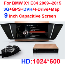 HD1024*600 CAR DVD GPS FOR BMW X1 BMW X 1 E84 2009 2010 2011 2012 2013 2014 2015 WITH 3G+GPS+I-Drive+original radio+DVR+MAP