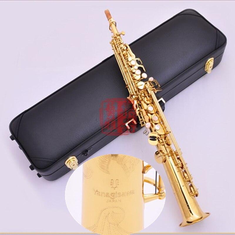 New Japan YANAGISAWA Saxophone S991 B Soprano sax Haute Qualité instruments de musique Soprano professionnel livraison gratuite