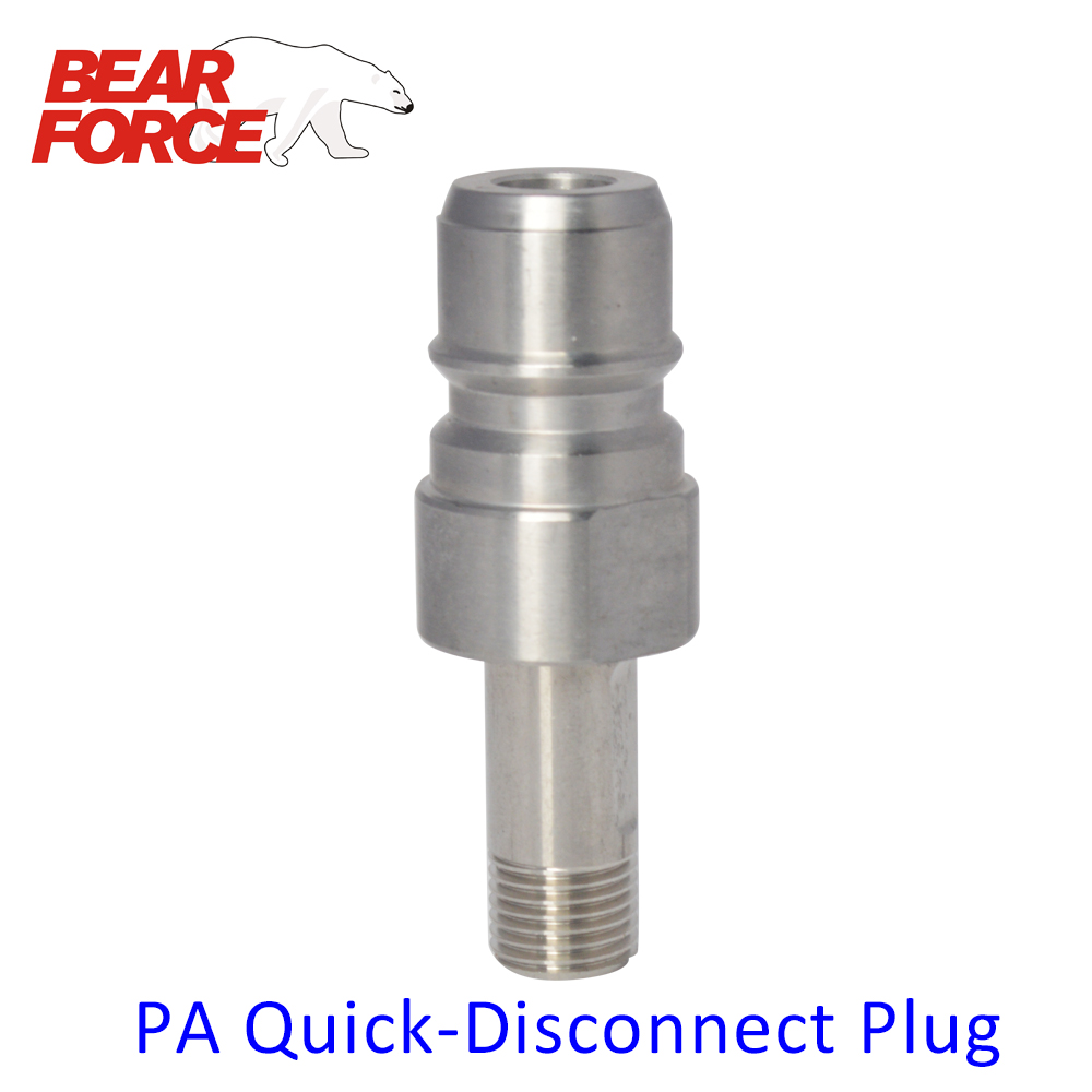 Quick Release Plug Fitting Adapter for Foam Generator  Snow Soap Lance Foam Nozzle for PA High Pressure Washers