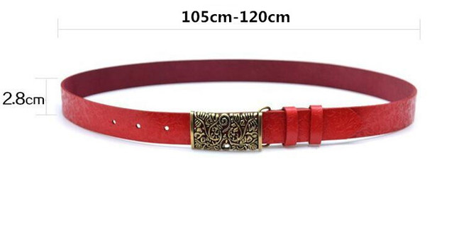 2017 Genuine  Leather Belt For Women HQ