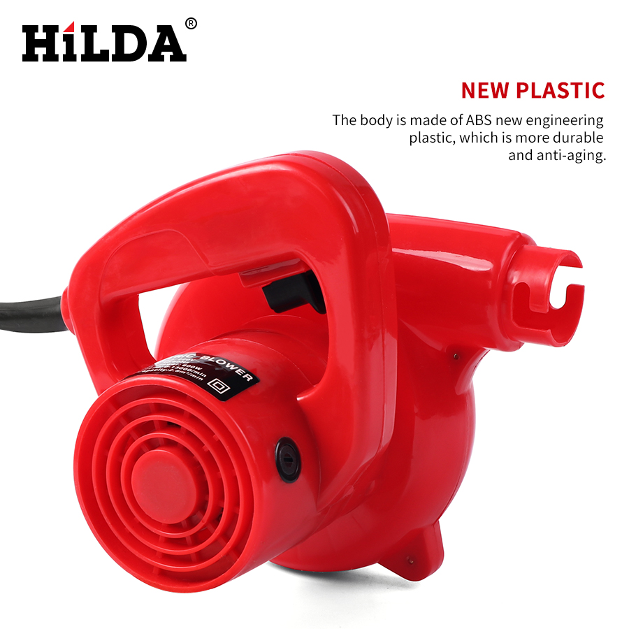 HILDA Air Blower Computer cleaner 500 w Blazen/Stof verzamelen 2 in 1 ventilator Elektrische Hand Blower voor Cleaning Computer