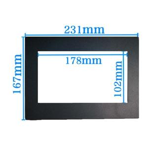 Image 4 - car frame for Universal 2 Din auto radio / android player Frame Retrofitting decorative framework 178 x 102mm panel No gap