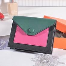 купить Women Wallets Holder Purse Luxury Brand Casual Leather Ladies Patch Card Female Credit Card Holder Card Wallet Carteira Feminina по цене 2876.86 рублей