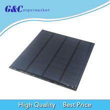 Mini 9V 1.5W Solar Collector Solar Power Panel DIY for Cell Phone Charger mbr cell power neck