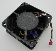 Original NMB 2410ML-04W-B49 X15 6025 6CM 12V 0.22A Alarm Signal dual ball bearing projectore cooling fan